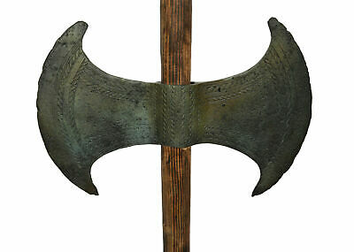 Double Headed Axe - Bronze Labrys - Museum reproduction - Minoan period
