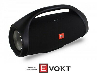JBL Boombox Portable Bluetooth Speaker with Rich Sound Black NEW
