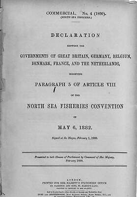 NORTH SEA FISHERIES. Declaration between the Governments of Great Britain, Germa