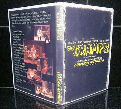 the cramps, ~ dvd