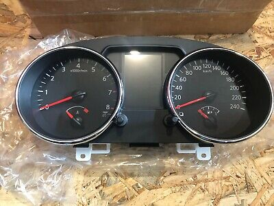 NEW Speedometer/Instrument Cluster  Nissan Qashqai 24810BR00C IN KILOMETERS