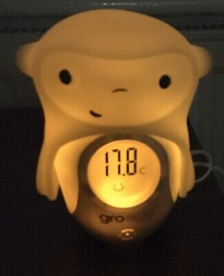 Gro-egg Colour Changing Digital Room Thermometer With Mickey Topper