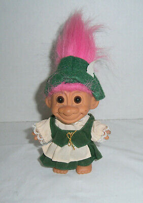 """GERMANY Russ Troll Doll 5/"""" AROUND THE WORLD New in Bag"""