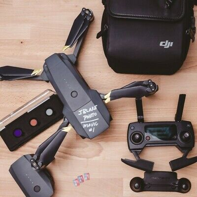 DJI Mavic Pro Drone with Batteries & LOTS of Accessories
