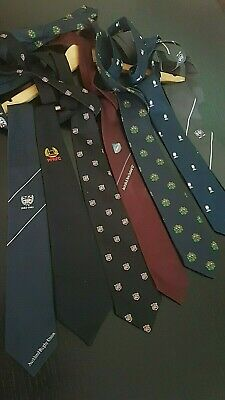 cravate TIE NEW ZEALAND ALL BLACK  JONAH LOMU COUNTIES MANUKAU maillot rugby