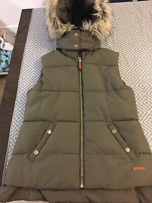 H&M Girls Hooded Gilet 12-14 Years