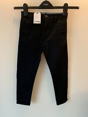 Boys Next Age 6 Blue Chinos Smart Trousers New With Tags