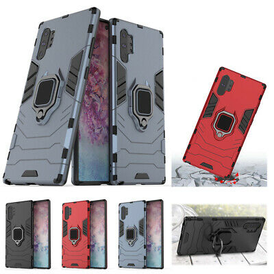 Armor Magnetic Ring Case Cover For Samsung Galaxy Note 10 9 Plus S10e S9 S8 Plus