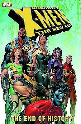 UNCANNY X-MEN The New Age Vol 1: The End of History TPB (2004 1st Print) NEW