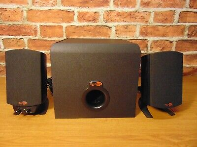Klipsch ProMedia 2.1 Channel Computer Speaker - For Parts Or Repair