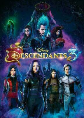 Disney's Descendants 3 DVD, Brand New And Sealed, Free Delivery