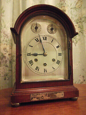 Gustav Becker westminster chimes  bracket clock