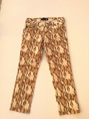 JUST CAVALLI di Roberto Cavalli vintage trousers snake pattern size 32 IT46