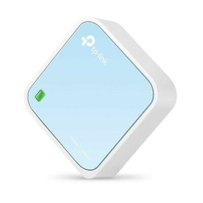 TP-Link N300 Wireless Portable Nano Travel Router - WiFi Bridge/Range Extender
