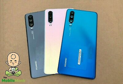 Genuine Huawei P30 (Ele-L29) Rear Back Glass Battery Cover Rear Housing Panel