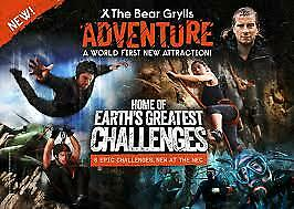 Bear Grylls Tickets 2 x Ropes Saturday August 22nd 2020