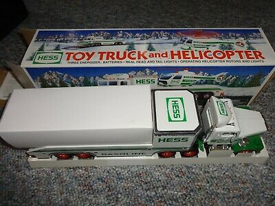Hess Toy Truck And Helicopter 1995  **New**