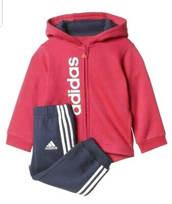 Infant Girls Boys Adidas Tracksuit Age UK 3M - 4 Years