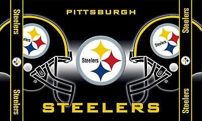 NEW Pittsburgh Steelers 3' x 5' flag/Banner US SELLER-$1 SHIPPING