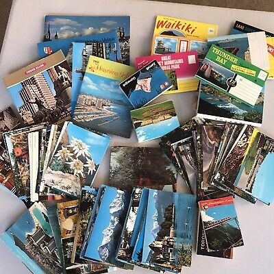 Lot of over  200+ Vintage Postcards Unsorted Mixed Lot