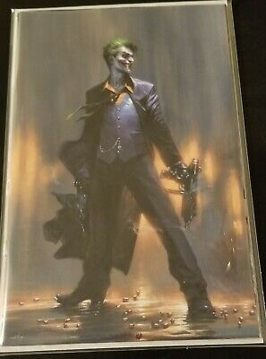 Joker Year Of The Villain #1 Dell Otto Yotv Virgin Variant Dc Comics Batman