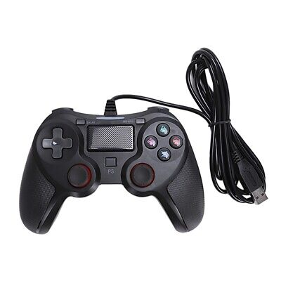 1X(for PC/PS4/PS3 Smart USB Wired Game Controller,Vibration Gamepad JoysticP3Y1)