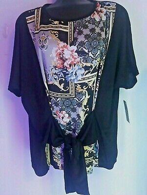 Women's Plus Size 2X 18/20 Tunic Top, New With Tag, Goddess Brand Avenue