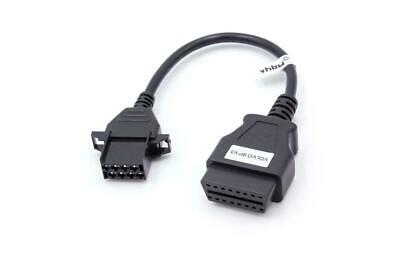 PKW Diagnose Volvo Adapter OBD1 / OBD2, 8pin >>> 16pin, 20cm