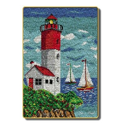 "Latch Hook Kit""Lighthouse"""" 110x70cm"