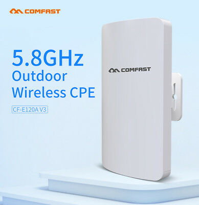 5,8 GHz 300 Mbit / s Outdoor CPE AP Wireless Bridge Router WiFi-Zugangspunkt