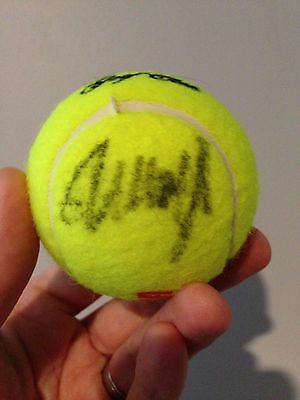 Donald Trump Autographed Signed Auto Tennis Ball National Golf Club President