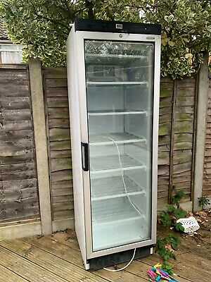 Commercial Freezer Single Glass Door Upright TEFCOLD BRAND
