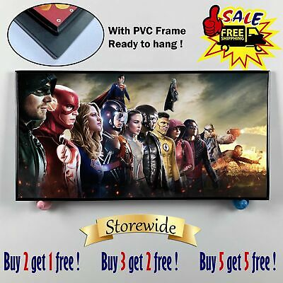 """12""""x24""""Super hero PVC HD Canvas prints Painting Home Decor Picture Room Wall art"""