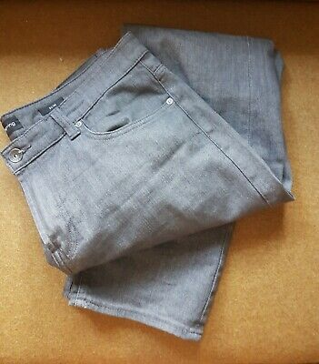 2 x (Two pairs)of mens grey Jeans Trouser W36