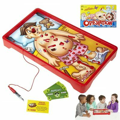 Operation Game Kids Family Classic Board Fun Childrens Xmas Gifts Toys Kids Hot