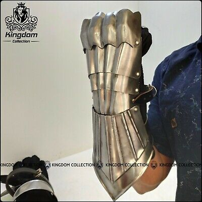 SCA Medieval fully Functional wearable gauntlets/gloves warrior armour gloves