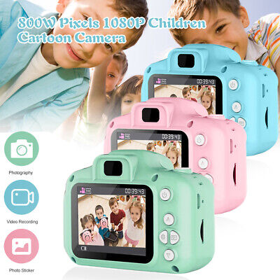 "Mini Digital Camera 1080P Video Recorder Camcorder 2"" For Children Kids Gift"