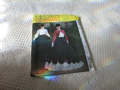 Simplicity 4339 Gone With The Wind Walking Dress Pattern Costume Sz 14-20 UNCUT