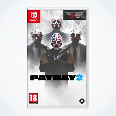 PAYDAY 2 sur Nintendo SWITCH / Neuf / Sous Blister / Version FR