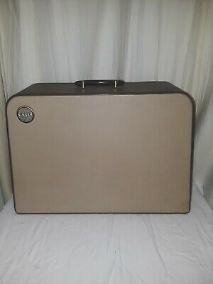 Vintage Singer Model 401A  403 Sewing Machine Carrying Case lid only (N212e)p3