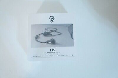 B & O Official Model Play BeoPlay H5 Wireless Bluetooth earphone Black