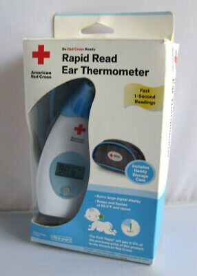 The First Years American Red Cross Rapid Read Ear Thermometer Y7049