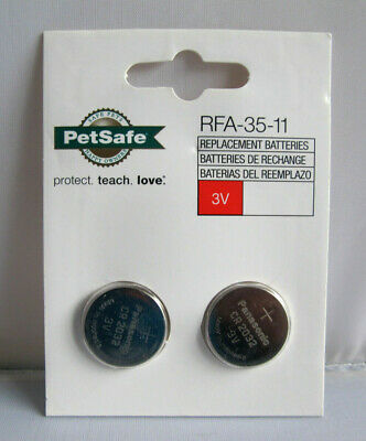 Pet Safe RFA-35-11 3-Volt Lithium Replacement Batteries CR2032