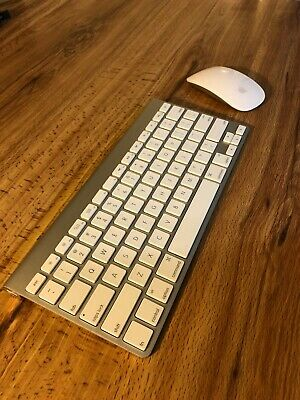 Apple Wireless Keyboard And Magic Mouse Bundle A1314 A1296