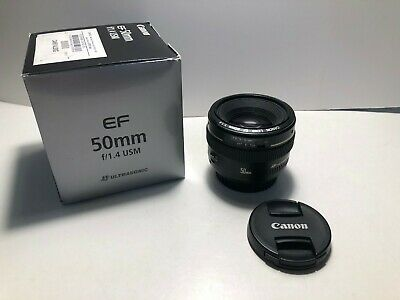 **MINT** Canon EF 50mm f/1.4 USM Lens for Canon