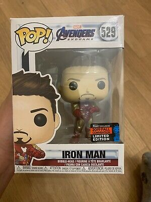 Funko Pop Iron Man Avengers Marvel 529 Nycc 2019