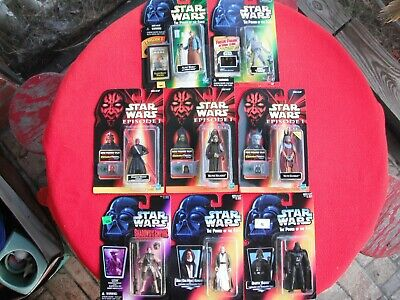 Lot of 8 Star Wars Action Figures New in unopened packages