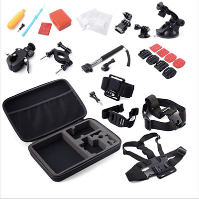 30X GoPro Accessories Kit Action Camera Accessory Bundle Chest Strap Head Mount