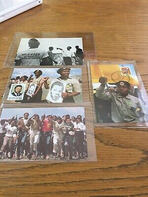 South African ANC Postcards. (4).