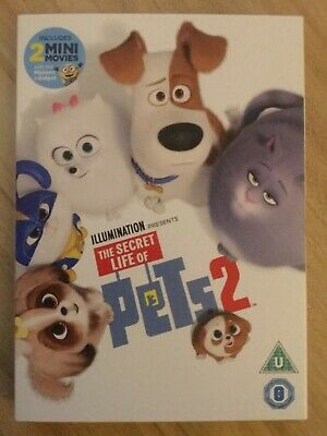 The Secret Life of Pets 2 DVD - New and Sealed Fast and Free Delivery